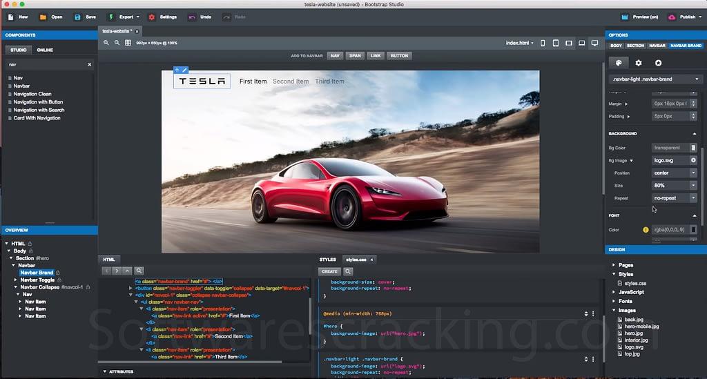 Bootstrap Studio 2.2.4 Free download