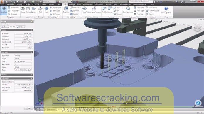 Autodesk Inventor HSM 2019 x64 Free Download