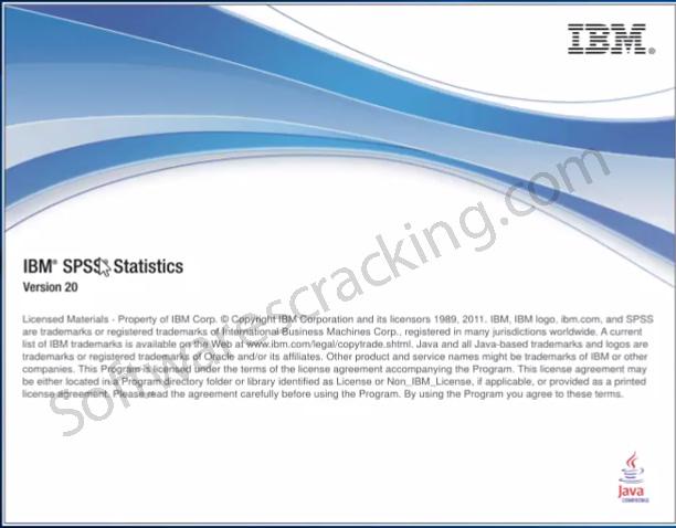 ibm spss v 20 software