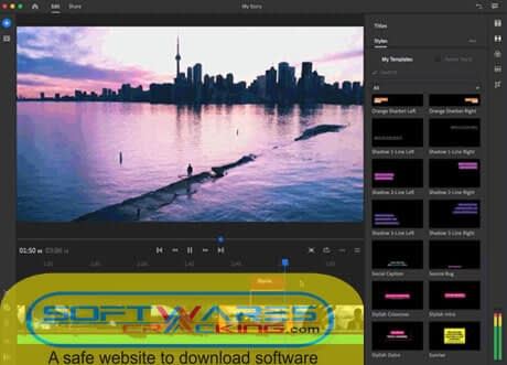 Adobe Premiere Rush v1.5 Free Download Windows and macOS