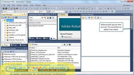 Adobe RoboHelp 2021 Crack download